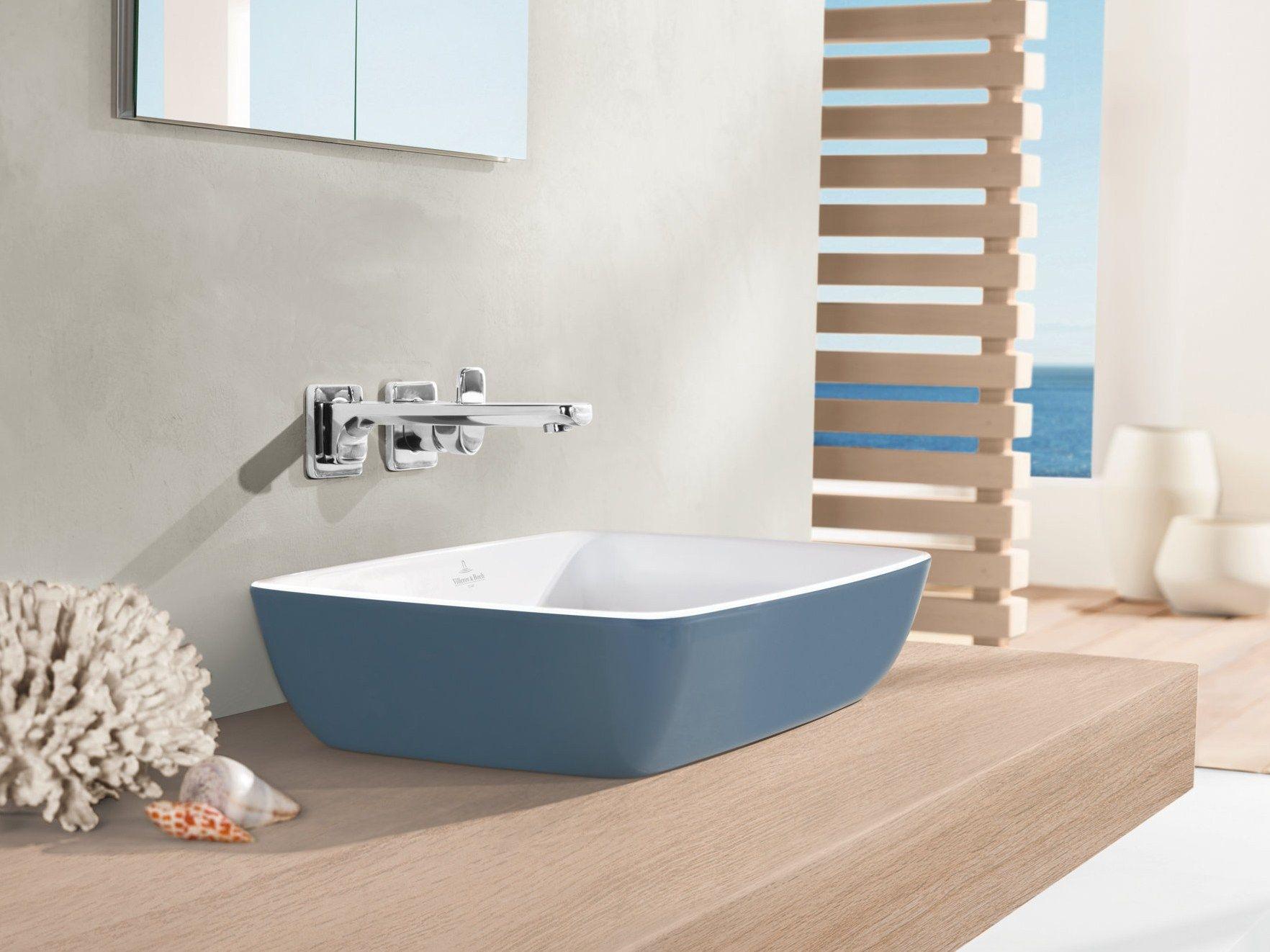 countertop titanceram washbasin artis color line by villeroy boch design gesa hansen