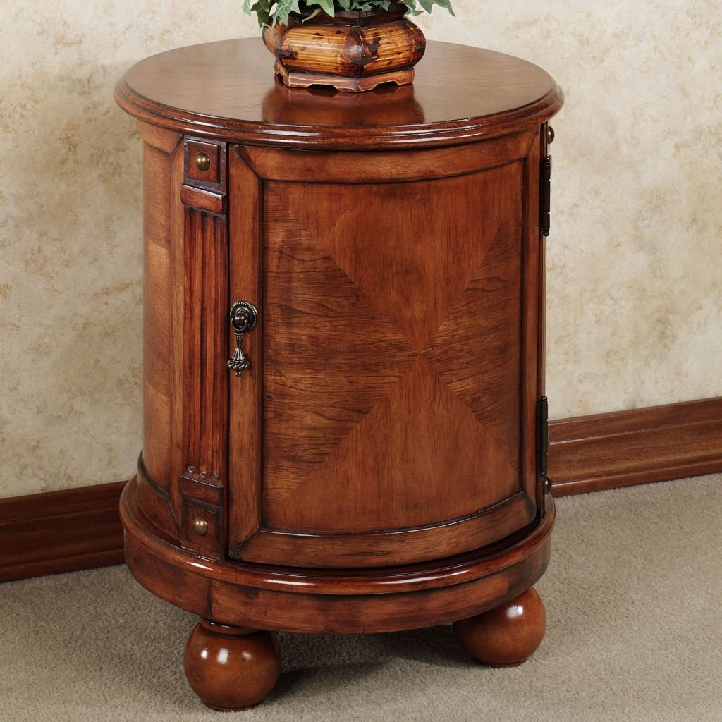Best Seller Curved Accent Console Table Decor Storage: 100+ Antique Round End Tables