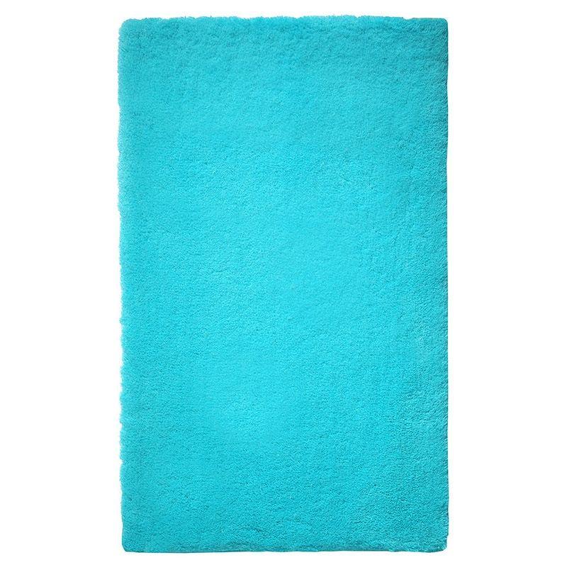 Etourdissant Tapis Bleu Turquoise Chambre Decoration Francaise