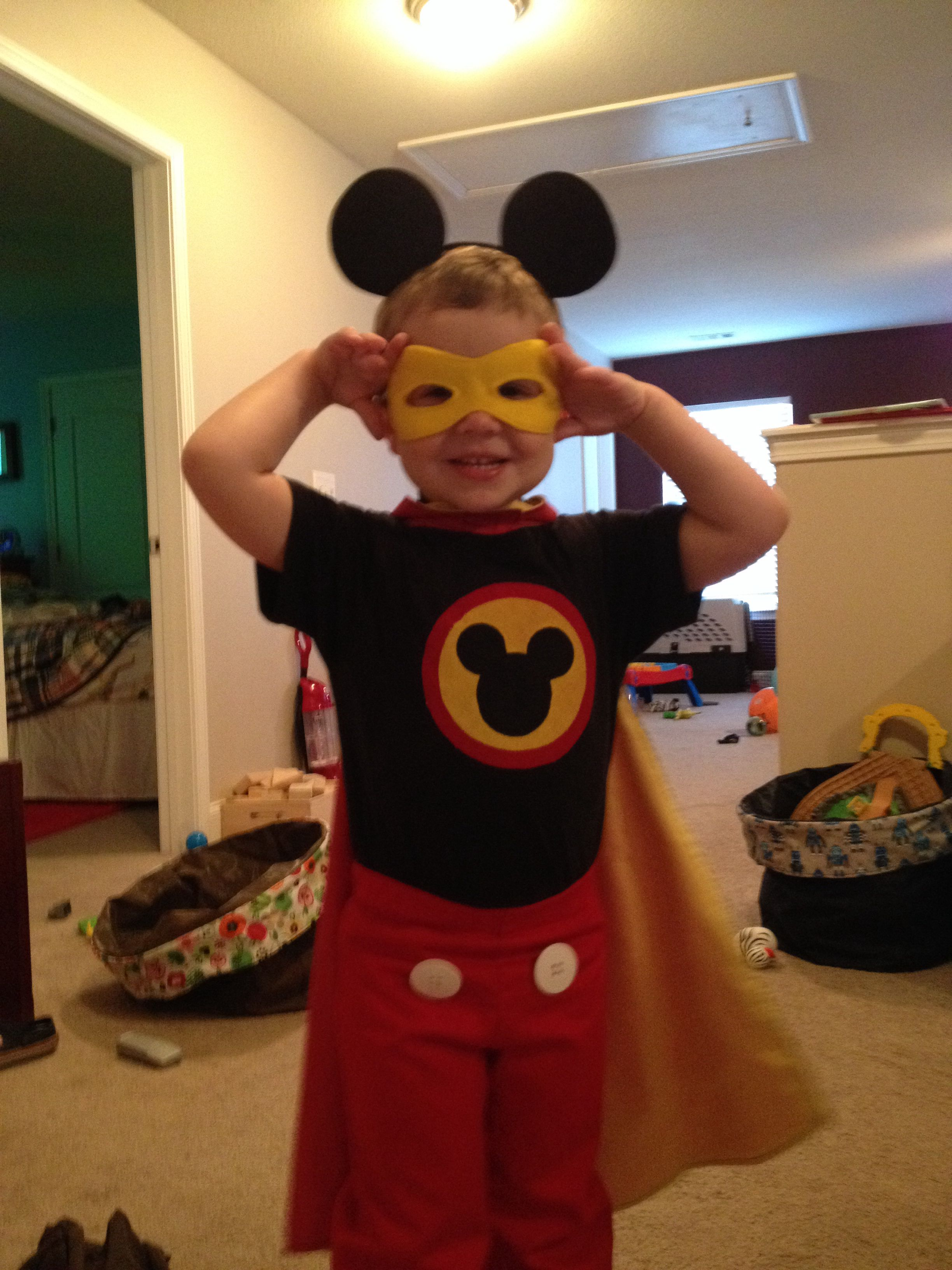 Super Mickey Mouse Costume