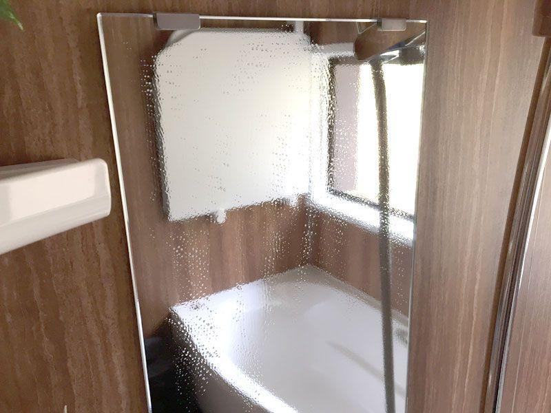 お風呂の鏡に曇り止めを塗ったら効果絶大でおすすめしたいレベル お風呂 浴室リフォーム 鏡