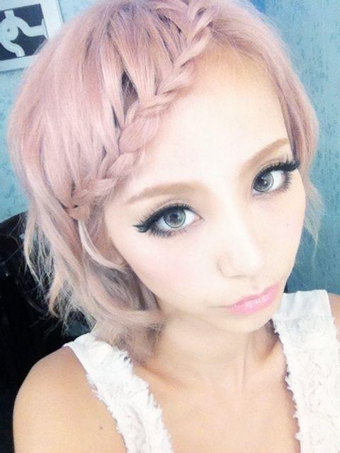 Peinados Kawaii Pelo Corto Sin Fleco Buscar Con Google Peinados