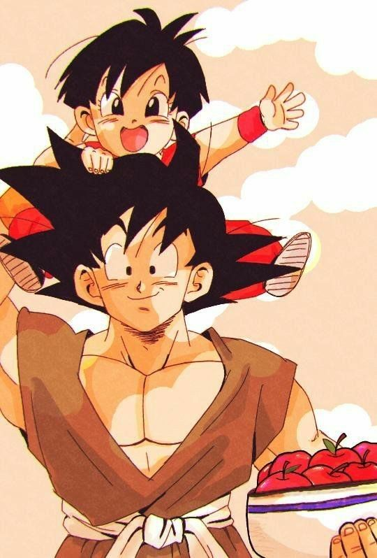Goku and Pan by parudy88 on DeviantArt