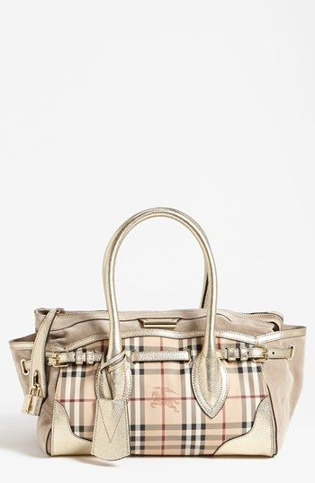 Burberry Haymarket Check Medium Tote Available At Nordstrom