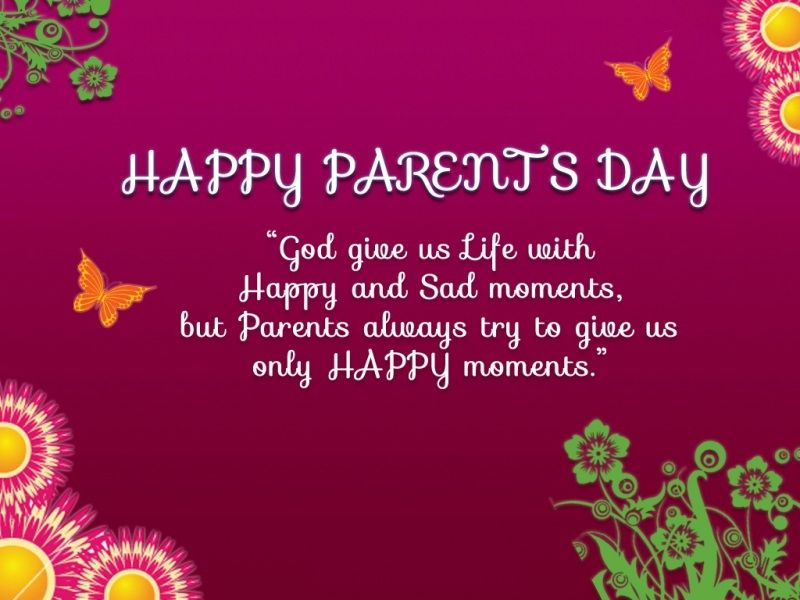 Happy Parents Day Images, Pictures, Photos with messages | Happy ...
