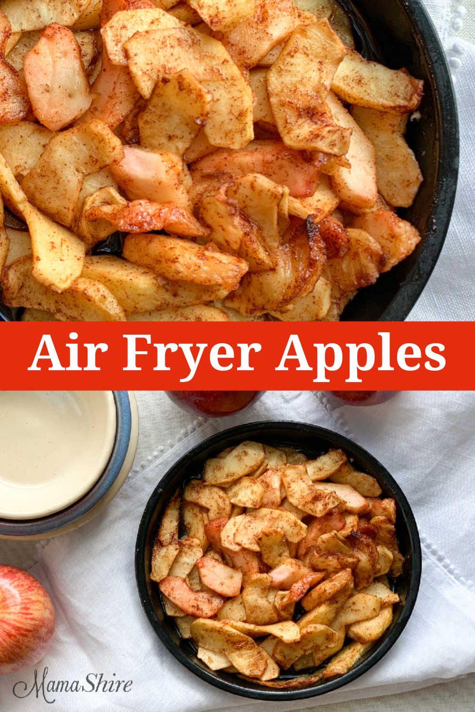 AirFried Spiced Apples Recipe Air frier recipes, Air