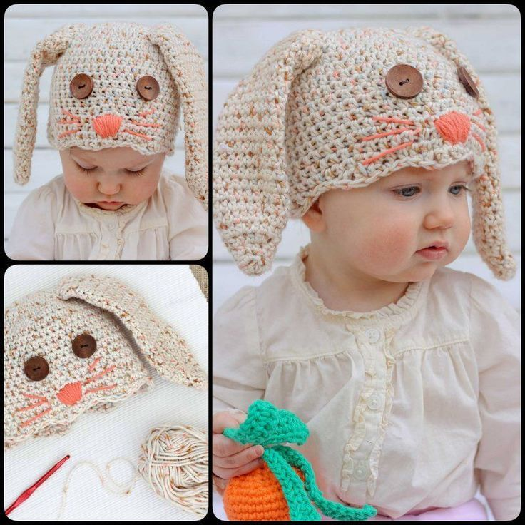 Free Kids Animal Hat Crochet Patterns For Dress-up & Keeping Warm ...
