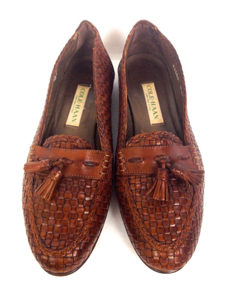 Cole Haan Shoes 9.5 Brown Leather Loafers Women's #ColeHaan #LoafersMoccasins