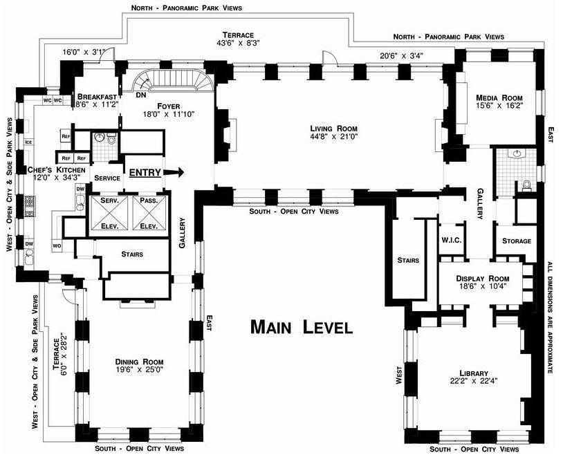 Manhattan Duplex of Christopher M. Jeffries - 77.5 million