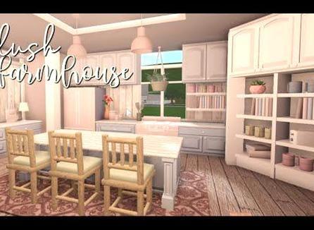 Bloxburg Blush Farmhouse Youtube Luxury House Plans Simple House Plans House Decorating Ideas Apartments