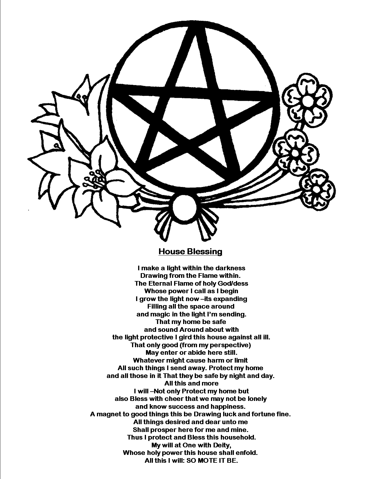 Magick Spells: Good Luck Spell  | Spiritual | House blessing