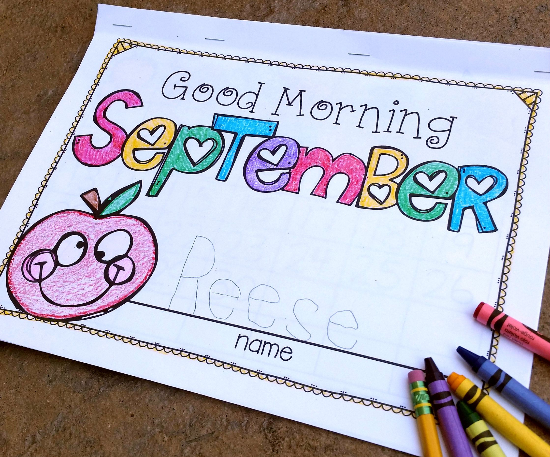 Kindergarten Morning Work Yearlong Bundle