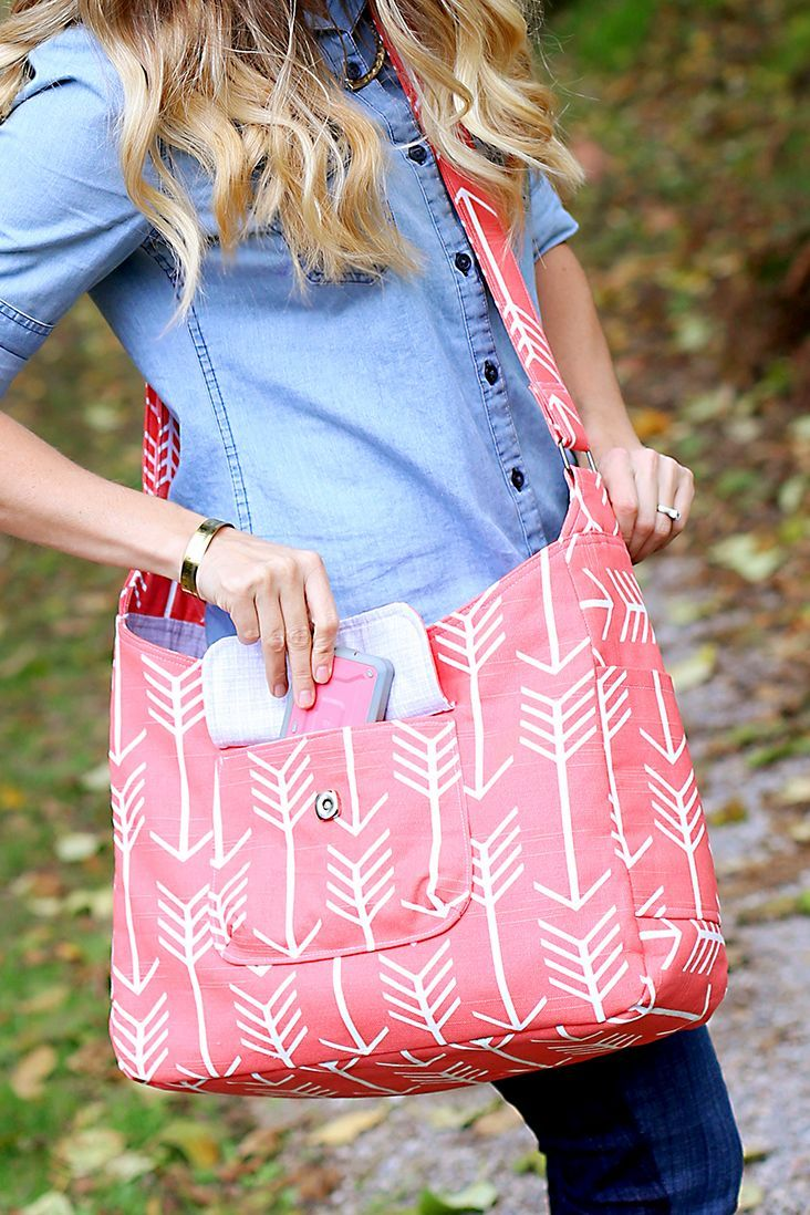 The airdrie bag pattern is here sew much ado