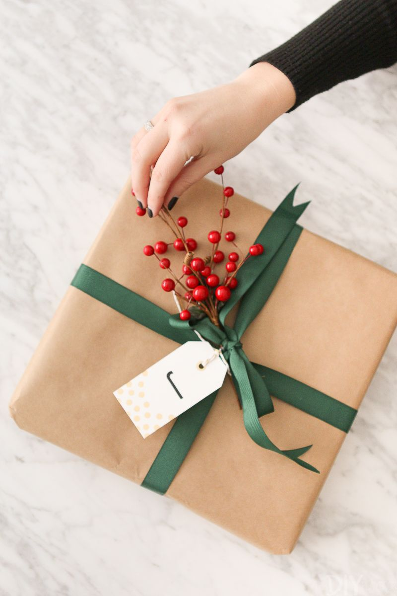 How to Wrap a Gift Like a Professional | The DIY Playbook