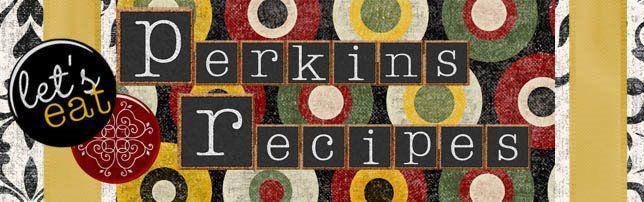 Perkins Recipe Collection Peaches Cream Muffins Potato Soup Crock Pot Potato Soup Peaches Cream