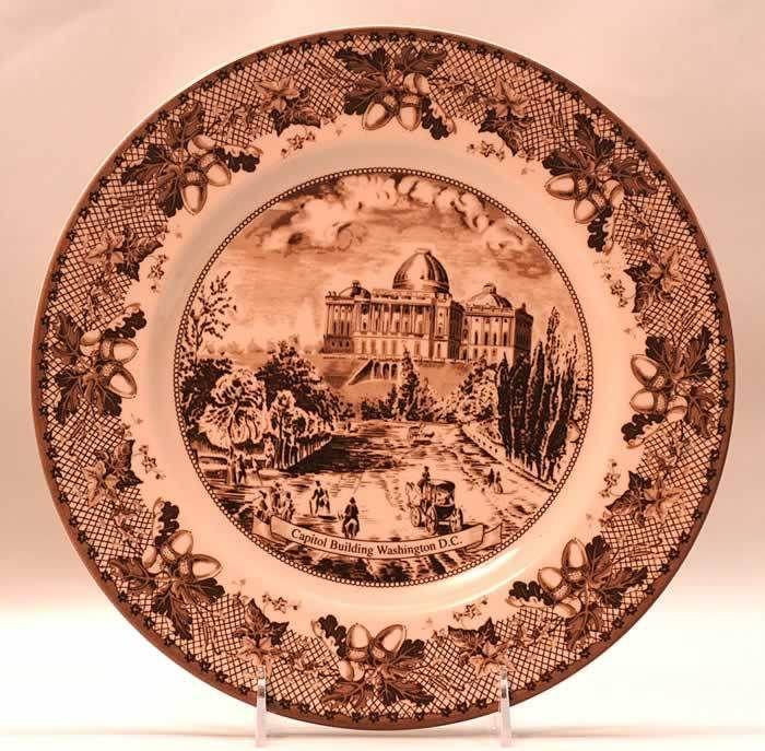 Johnson Bros HISTORIC AMERICA Dinner Plate 7015655 | eBay ...