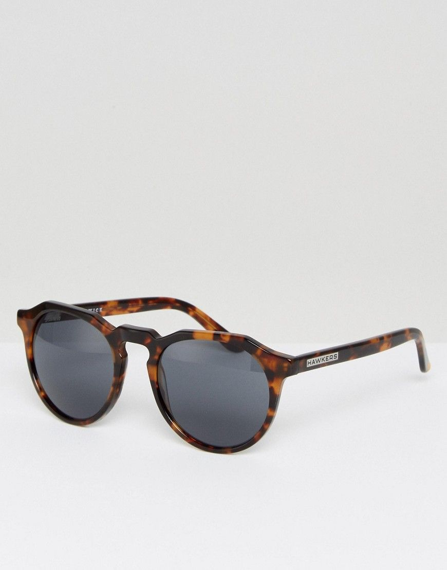9d04b4222c Hawkers warwick polarised round sunglasses in tort | Sunglasses ...