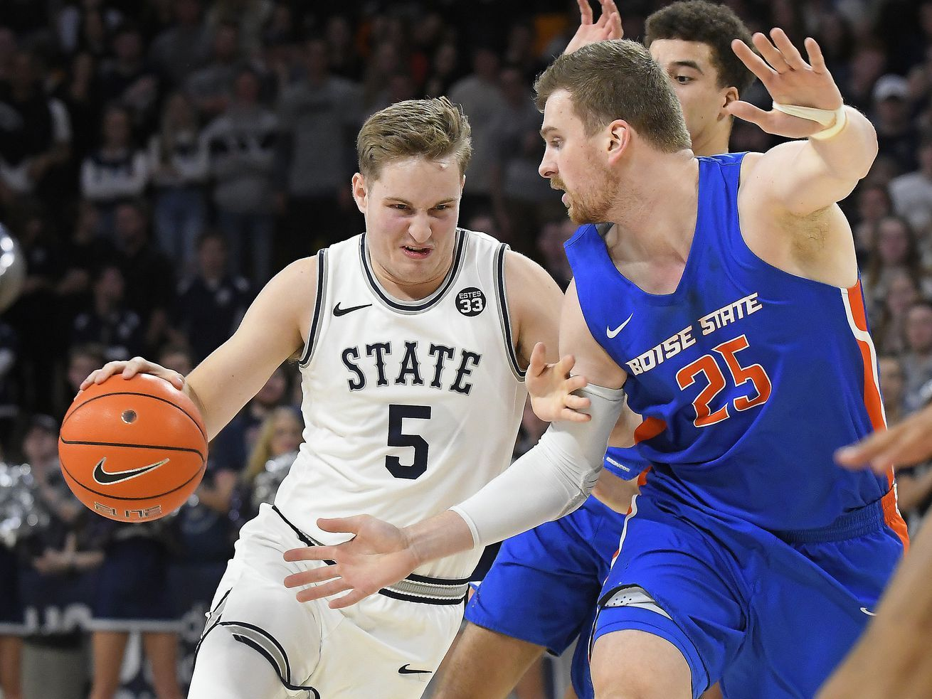 Utah State's ability to close game out this time against