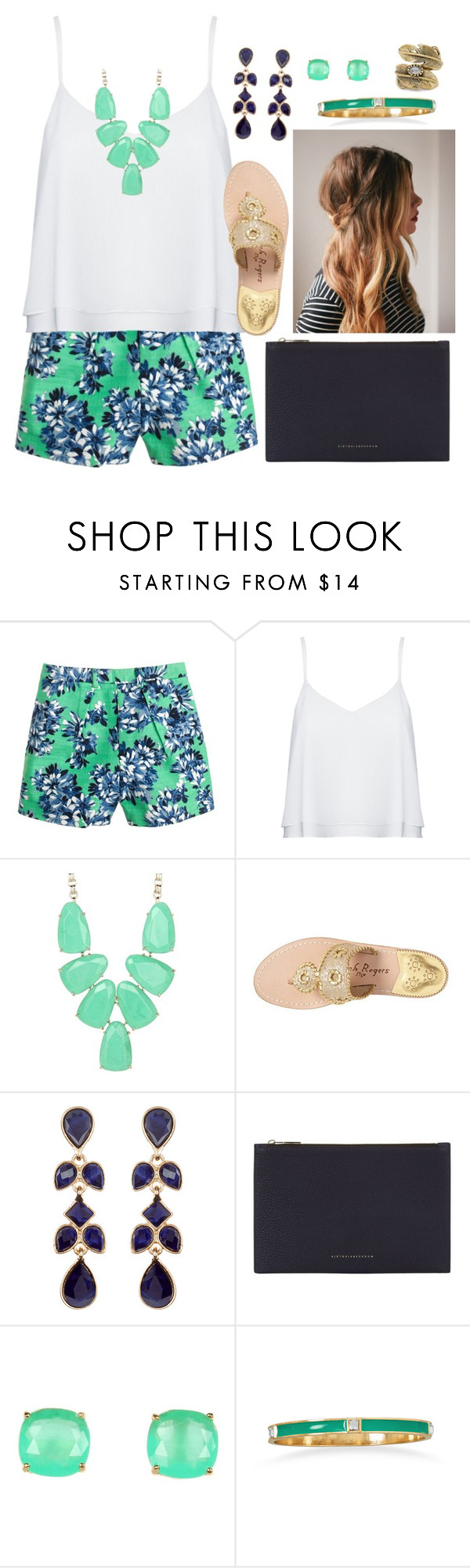 """""""Forgiveness"""" by stephanie-erin ❤ liked on Polyvore featuring J.Crew, Alice + Olivia, Kendra Scott, Jack Rogers, Accessorize, Victoria Beckham, Kate Spade, Natalie B, women's clothing and women's fashion"""