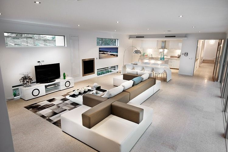 Derby House By Daniel Lomma Design Homeadore Contemporary Living Room Design Contemporary House Living Room Designs #white #contemporary #living #room