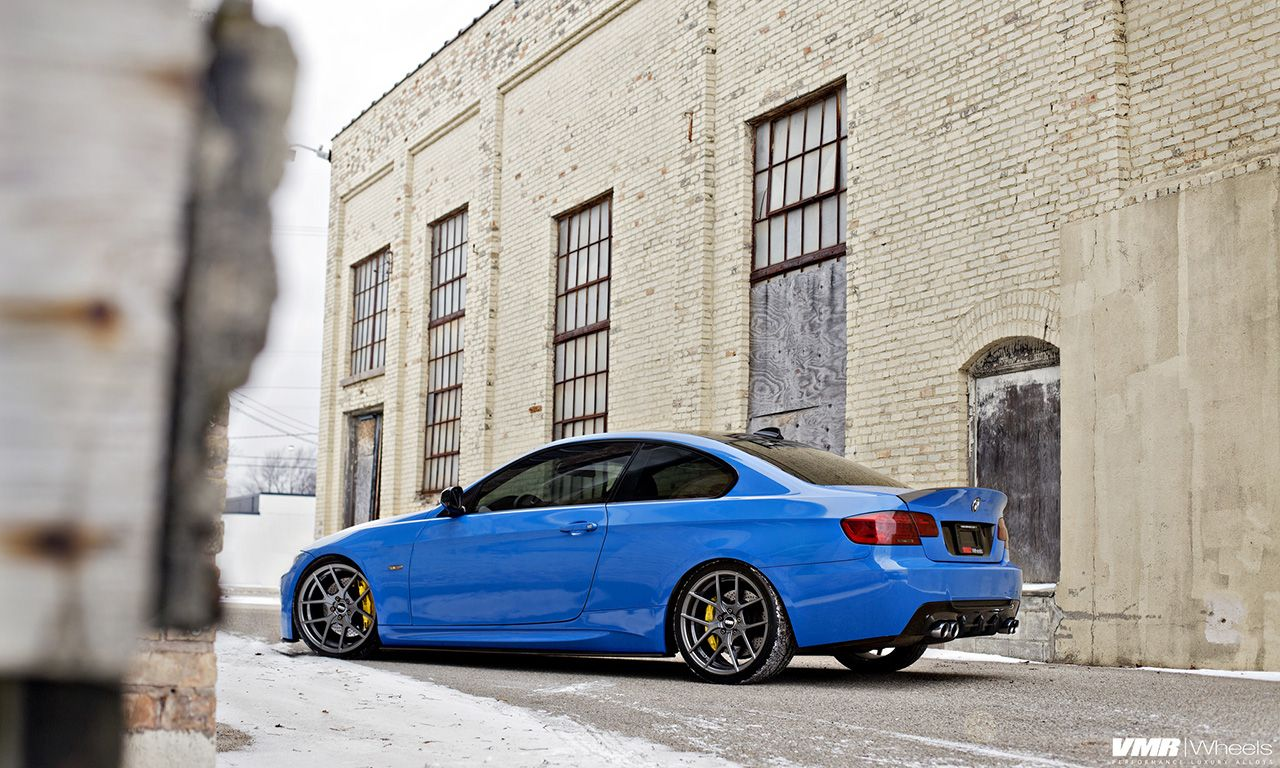 Santorini Blue Bmw E92 M3 Is Here To Take You Down Bmw
