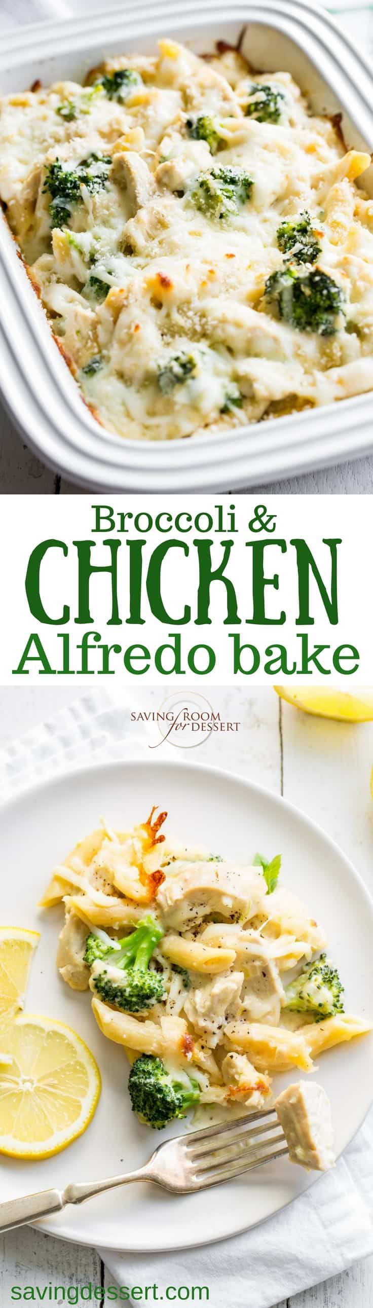 Broccoli  Chicken Alfredo Bake  Recipe  Chicken -6530