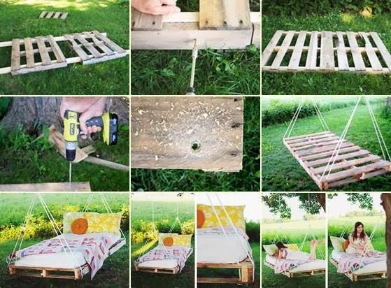 Wooden Pallet Swing Bed My99post Funniest Fail Pics