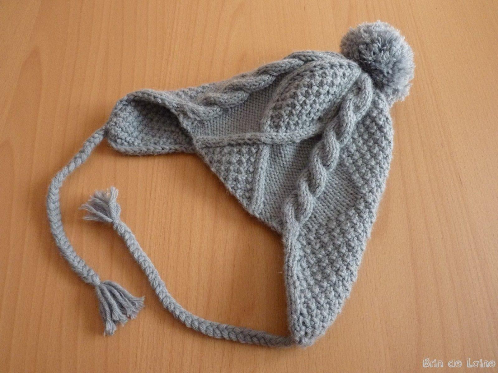 modele tricot bonnet peruvien gratuit   tricot   Tricot, Knitting et ... fc698c5a6ec