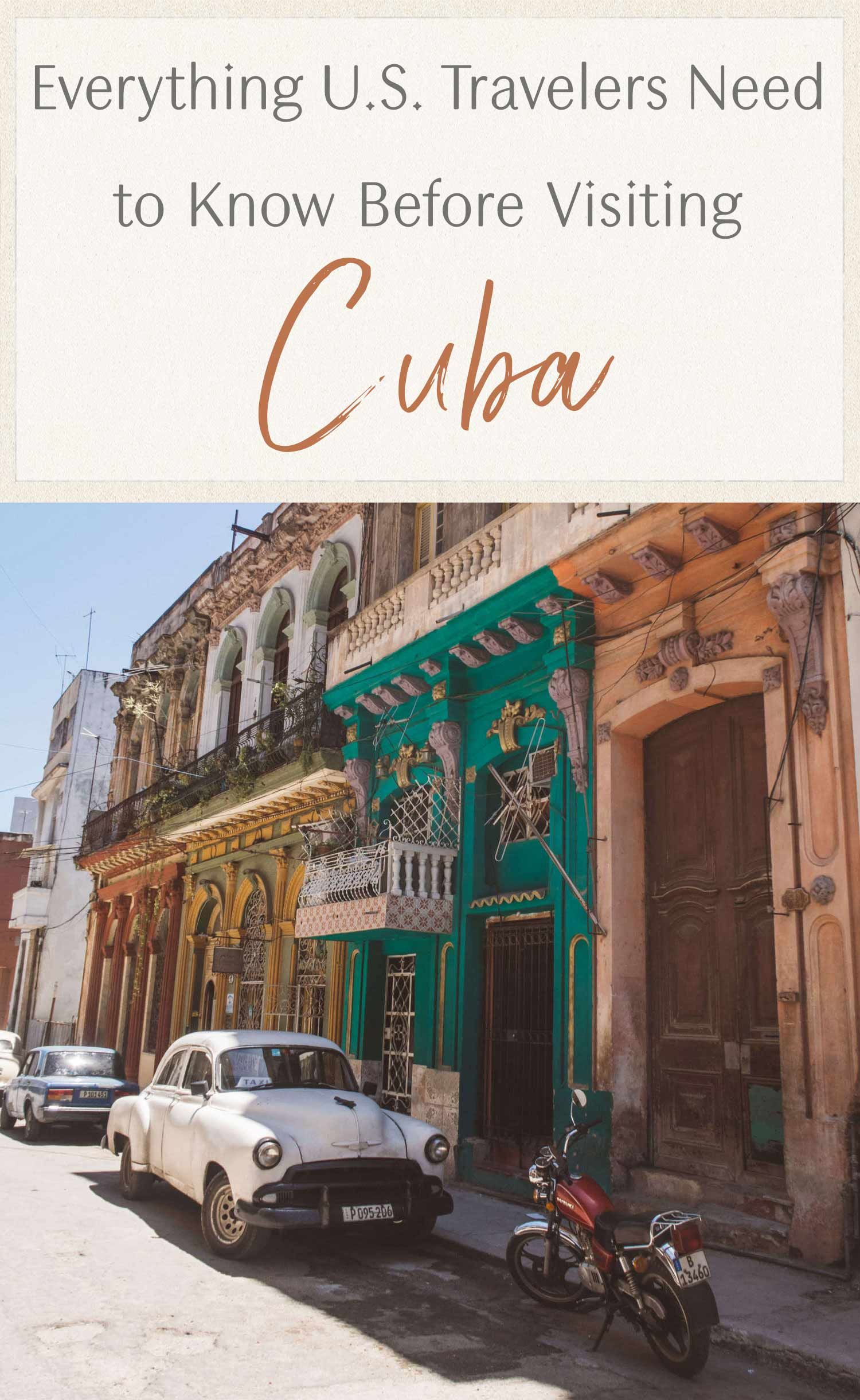 Everything U.S. Travelers Need to Know Before Visiting Cuba • The Blonde Abroad #visitcuba