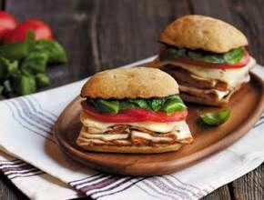 Oven Roasted Turkey Caprese Sandwich | Dietz & Watson™