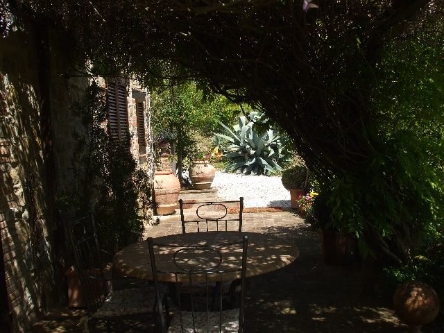 Front terrace - much needed shade in summer