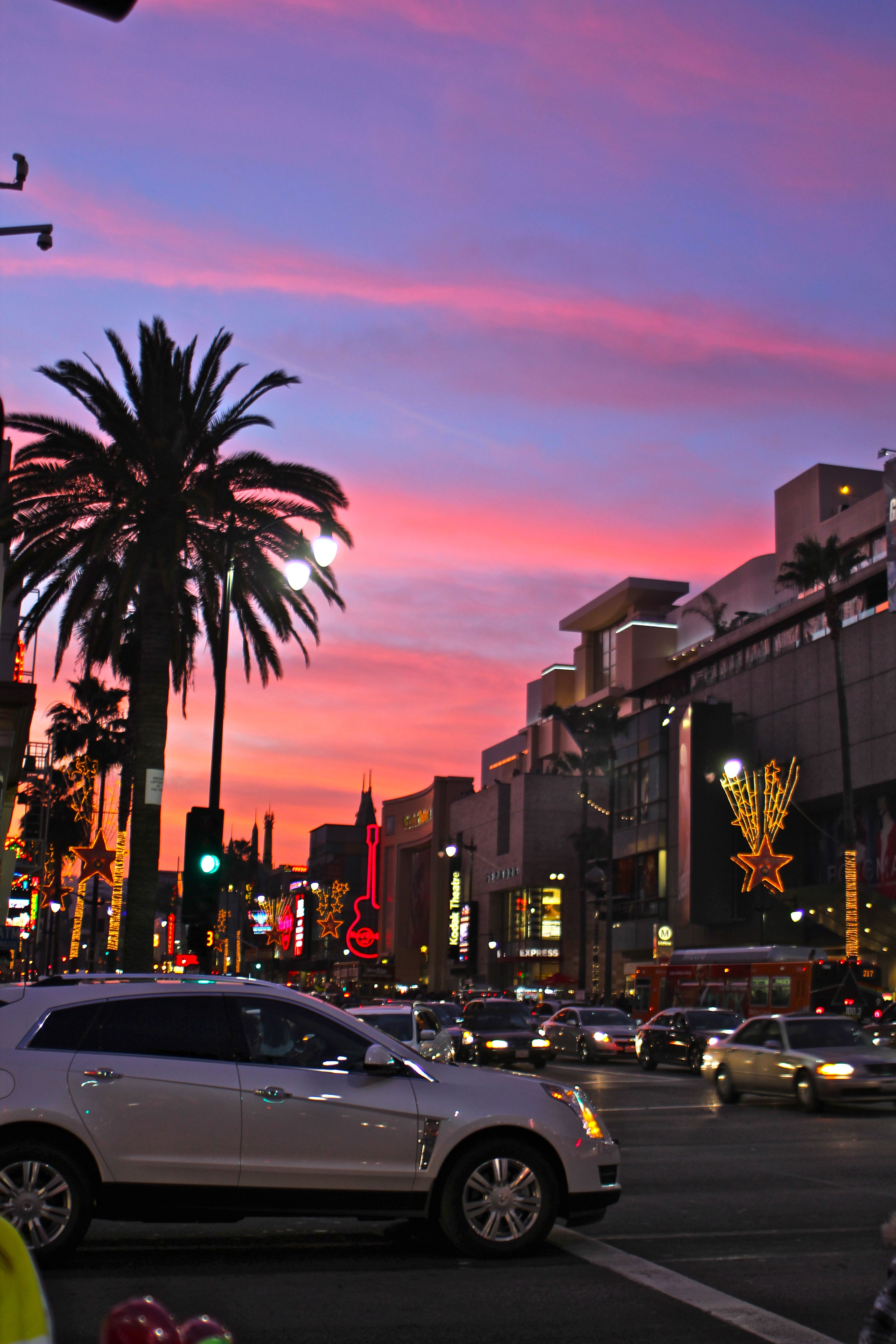 Los Angeles California Iphone Wallpaper