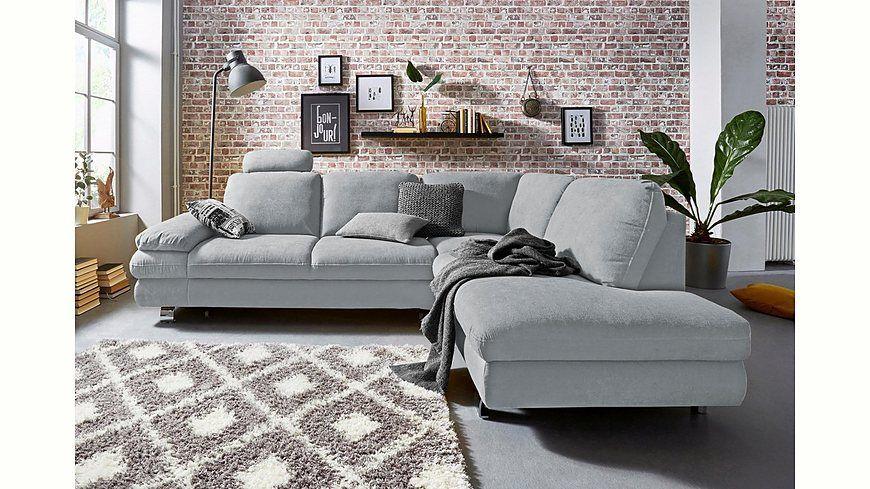 Trendmanufaktur Polsterecke, wahlweise mit Bettfunktion und - wohnzimmer neu gestalten