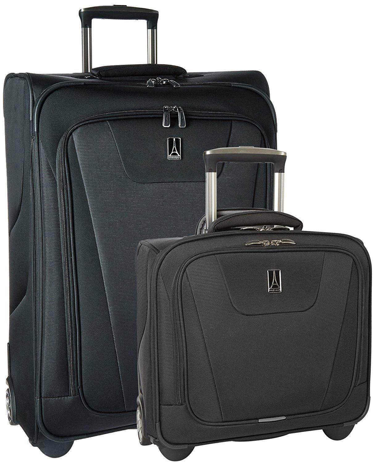 Travelpro Maxlite 4 2 Piece set  26  Expandable Rollaboard and Rolling Tote     Review more details here   Travel luggage a21be356b809f