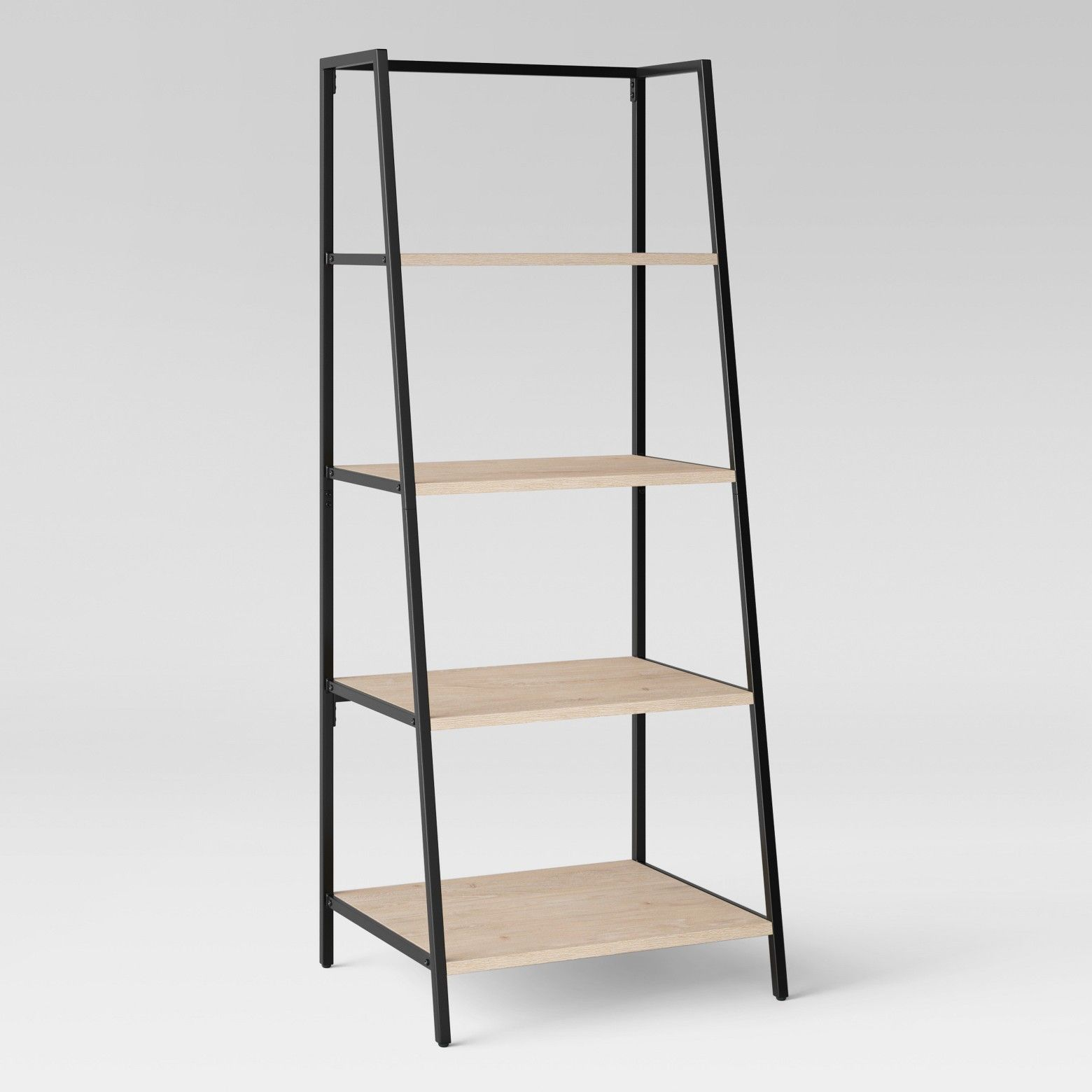 trestle bookcases bookcase sauder products shelf select