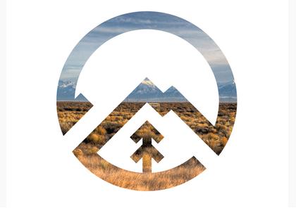 logo camp geometric circle photography