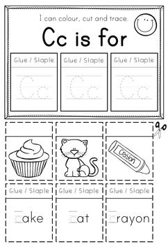 Alphabet Worksheets Letter Flip Pages  Alphabet Worksheets