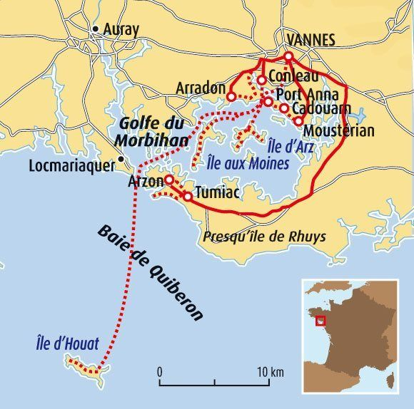Golfe Et îles Du Morbihan En 2019 Morbihan Bretagne Et