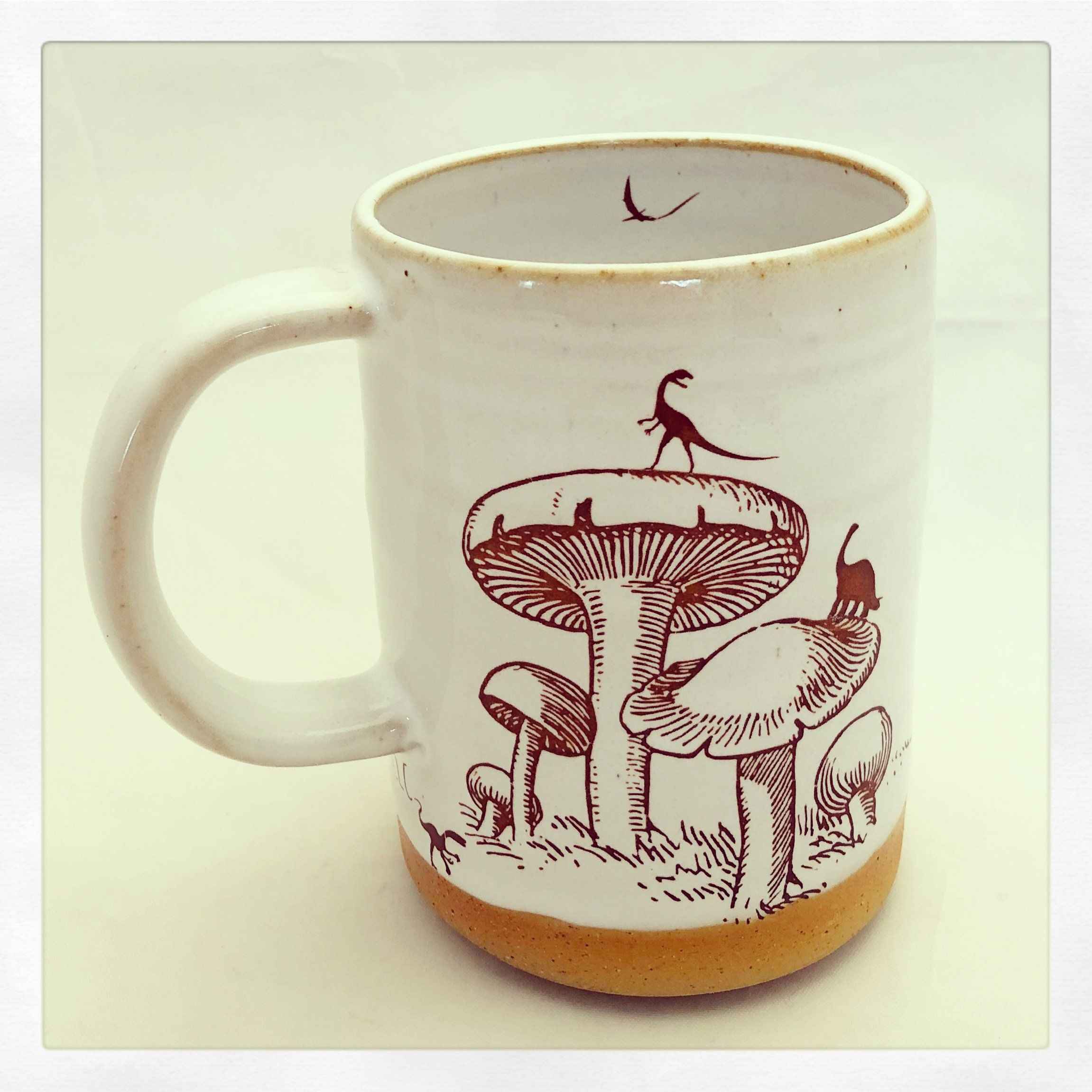 Dinosaur Island Mug by Chris Hudson and Shelly Hail (Ceramic Mug)   Artful Home
