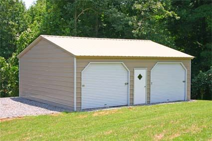 20 X 26 X 10 Vertical Roof Eco Friendly Steel Carport Garage Installation Included Small Shed Plans Metal Garages Garage Installation