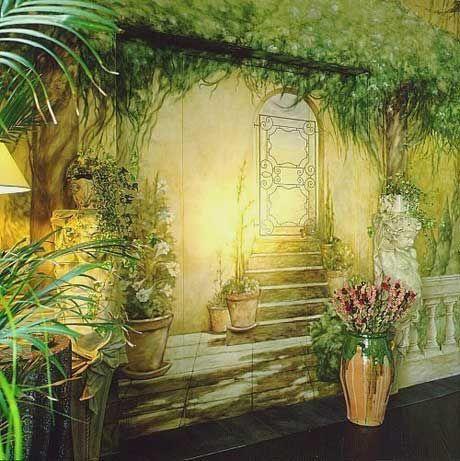 spannende Wanddeko im Wohnzimmer   Wall Painting Ideas   Pinterest ...