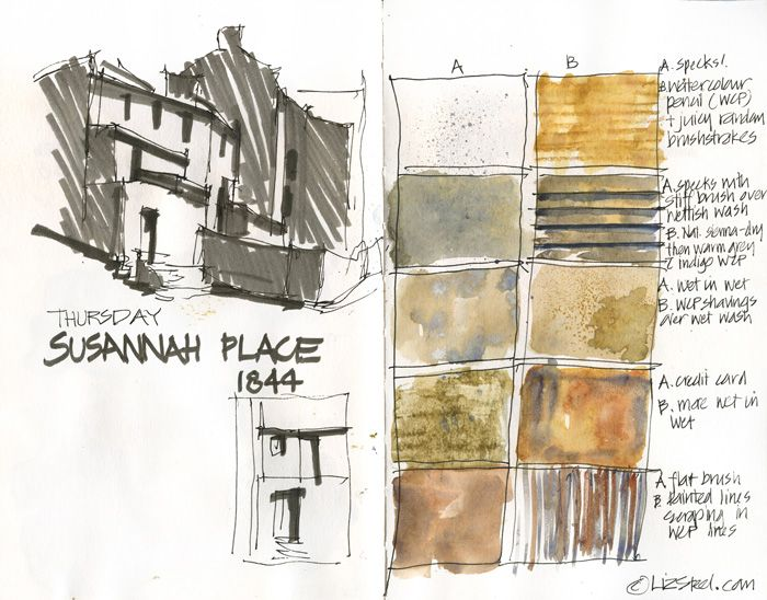 Sketching Architecture: Texture