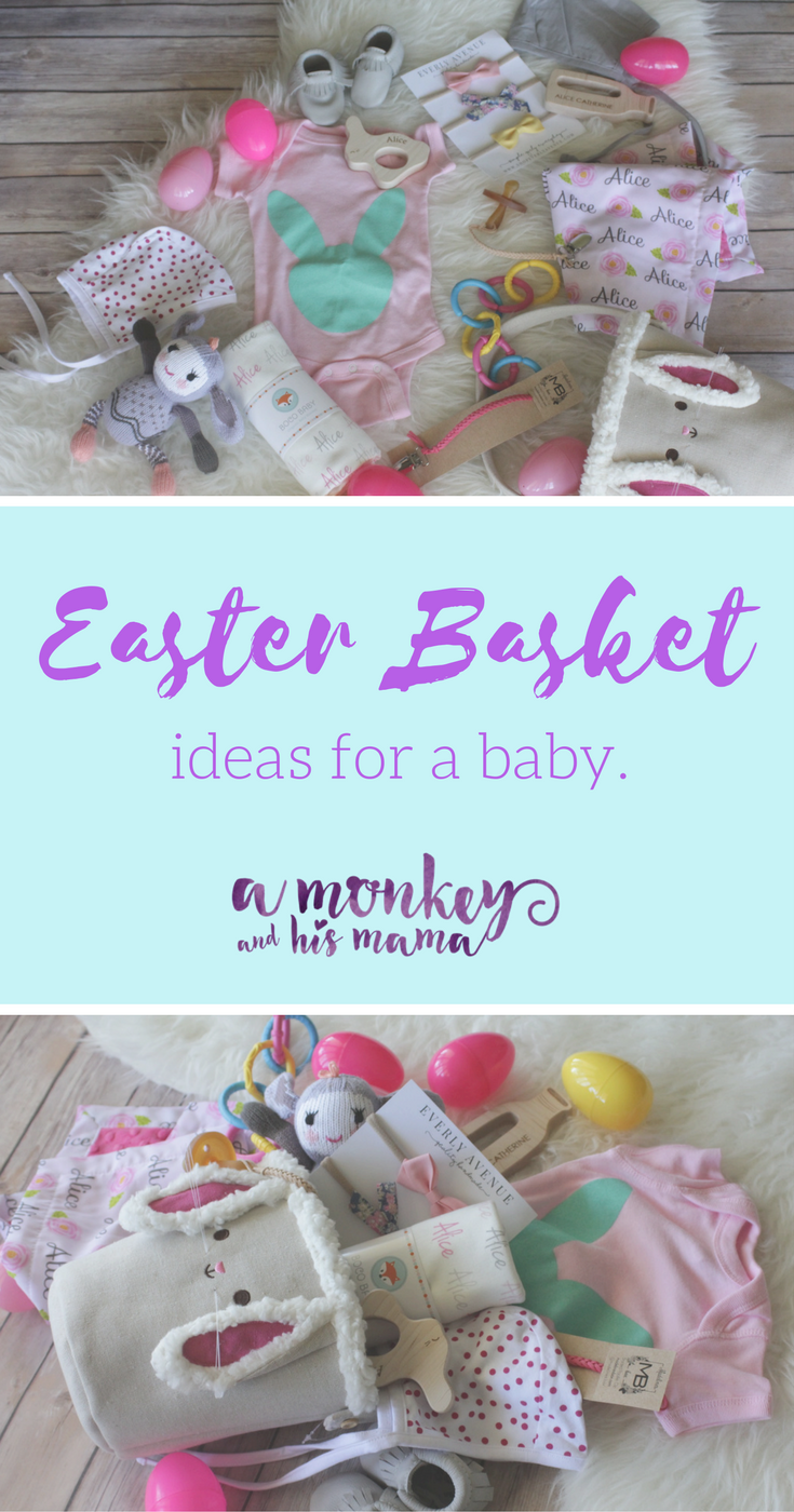 Easter basket ideas for a baby basket ideas easter baskets and easter basket ideas for a baby negle Image collections