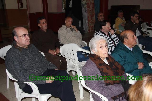 """Presentación de """"El isleño Valencia. Memorias y Reflexiones"""" en San Lorenzo"""
