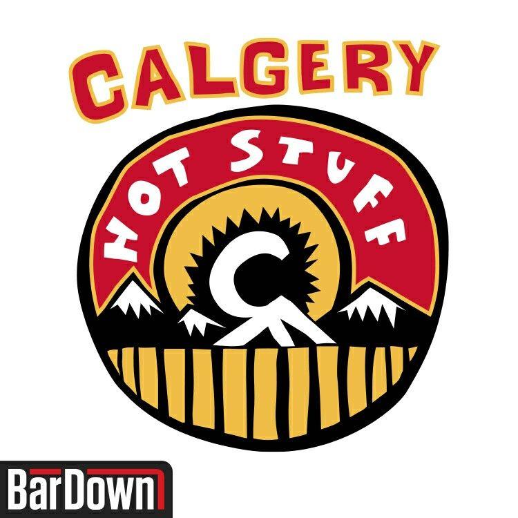 NHL_Calgary (With images) Nhl logos, Calgary flames, Nhl