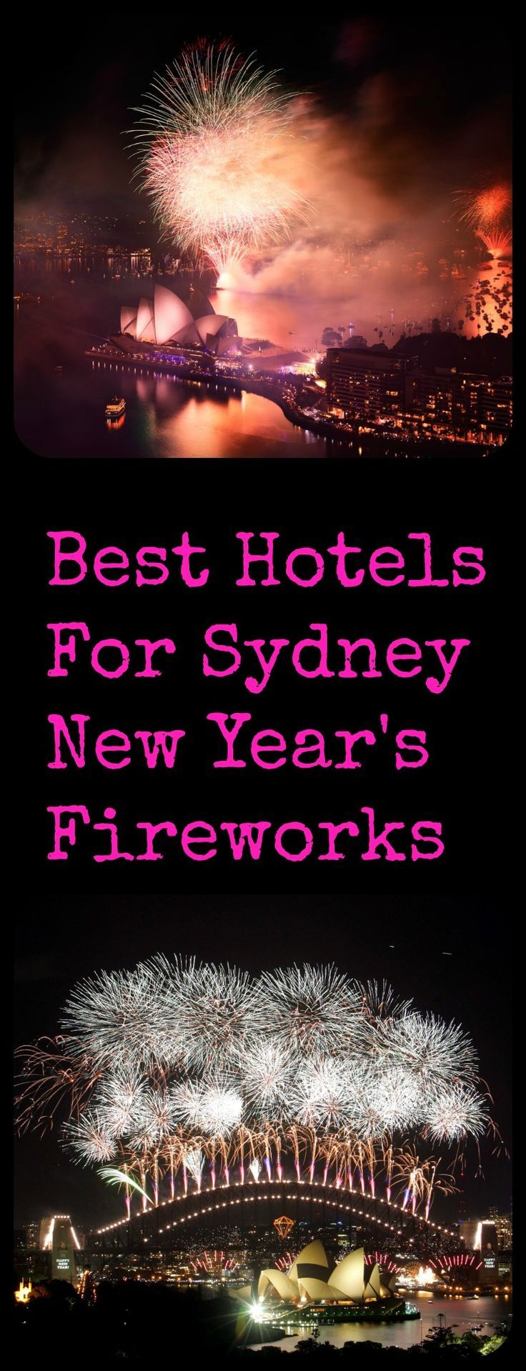 Best Hotels for Sydney New Year's Eve Fireworks Sydney