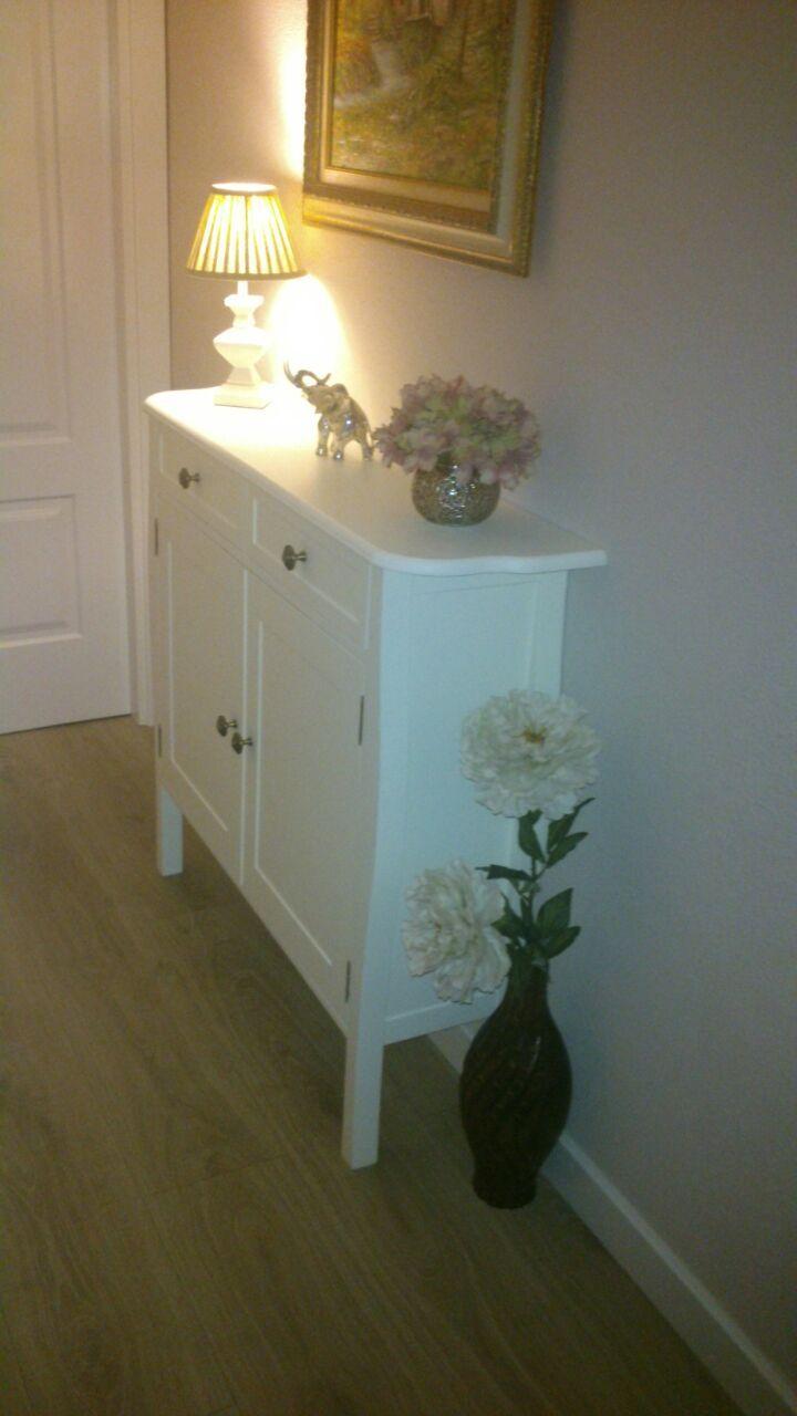 Mueble zapatero lacado en blanco para pasillo. | muebles | Pinterest ...