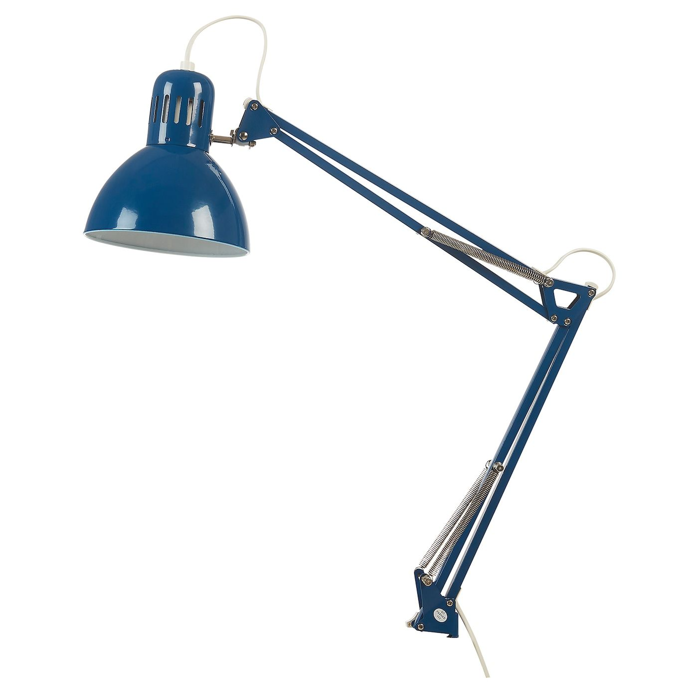 Tertial Lampe De Bureau Bleu In 2020 Work Lamp Bulb Black Lamps