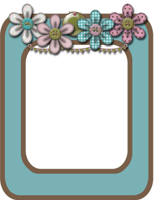 Free Strawberry Coco Digi Scrapbook Frame Cluster ♥♥Join 2,530 ...
