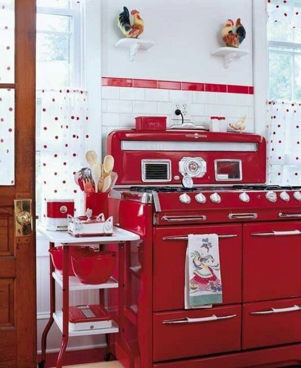 Hands dwn! Dis is how I want my kitchen appliances! 50\u0027s Style